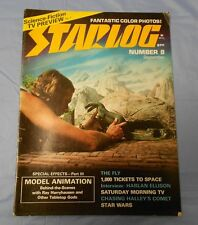 1977 STARLOG #8 Harryhausen STAR WARS Harlan Ellison KISS Love Gun FN