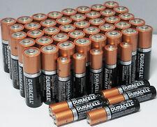Duracell 40 AA + 10 AAA CopperTop Alkaline Duralock Batteries Exp 2022/23 Bulk