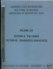 POW Information, Americans in Southeast Asia, Vol XIV