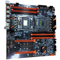 New X99 Dual Computer Motherboard LGA2011 CPU RECC DDR4 Memory Eating Chic K1N1