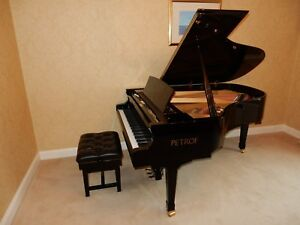PETROF STORM GRAND PIANO.  5 YEAR GUARANTEE. ONLY 1 YEAR OLD