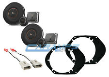 NEW INFINITY COMPONENT SET 2-WAY FRONT OR REAR AUDIO SPEAKERS W INSTALL PARTS