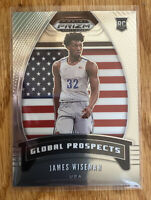 James Wiseman #97 USA memphis RC 2020-21 Prizm DRAFT NBA Global Prospects (Base)