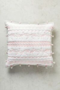 💕 LAST ONE 💕 Anthropologie Embroidered Melvyn Euro Sham NWT actual pic 👀