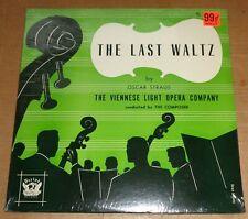 OSCAR STRAUS conducts The Last Waltz - Period RL 1904 SEALED