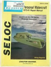 Kawasaki Personal Watercraft 1973-91 Repair Manual 18-09200