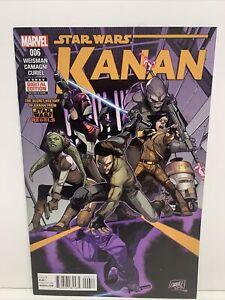 Star Wars Kanan The Last Padawan #6 1st app Sabine Wren HOT 2015 Rebels Marvel