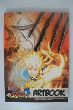 Naruto Shippuuden : Ultimate Ninja Storm 3 art book