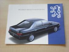 51730) Peugeot 605 SVTI 3.0 Prospekt 1993