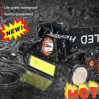 USB wiederaufladbare Camping COB Außenbeleuchtung Taschenlampe Scheinwerfer E0R1