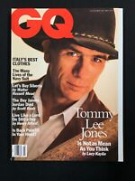 MARCH 1994 GQ MAGAZINE - TOMMY LEE JONES! James Jordan, Madeleine Stowe