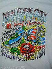 New York City N.Y. 2015 Annual NYC Tattoo Convention Jack Rudy T-Shirt MEDIUM