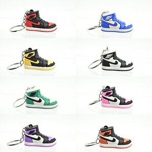 3D Jordan Basketball Keyring Keychain Shoe Various New design Kids Adult Gift UK