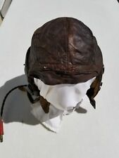 WW2 A-11 Flight Helmet w/ ANB-H-1 Receivers Size X-Large