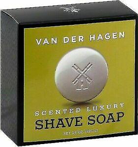 Van Der Hagen 400052 Scented Luxury Shave Soap - 3.5oz