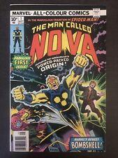 Nova #1 1976 Price Variant Marvel Comic Book