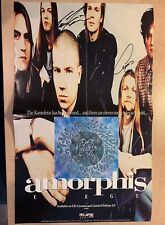 Amorphis Elegy Relapse Records Signed Promo Poster