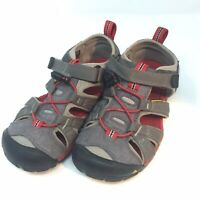 Keen Big Kids Sandals Waterproof Shoes Black Red Gray Youth Size 1