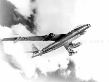 MILITARY AIR PLANE FIGHTER BOMBER B-47A STRATOJET COOL BLACK WHITE POSTER BB966A