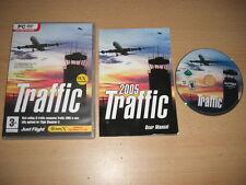 TRAFFIC 2005 Pc DVD Rom Add-On Flight Simulator Sim 2004 & X  FS2004 FSX FS