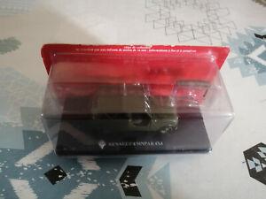 Voiture miniature Passion Renault 4 4L R4 Sinpar 4x4 Militaire Hachette au 1/43