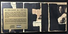 Neil Young –Neil Young Archives - Vol. 1 (1963-1972) - 8 CD Box Set USA -SEALED
