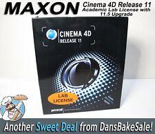 Maxon Cinema 4D Release 11 Academic Lab License Bundle 11.5 Upgrade, Cineversity