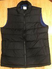 GAP Men's Puffer Jacket Vest Polyester Size Small S Black