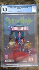 Rick and Morty presents the Vindicators cgc 9.8 1st Pickle Rick
