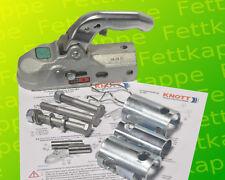 Knott Kugelkupplung K30U Universal 3000 kg Ø 35,40,45 und 50 mm Bohrung 12,5 mm