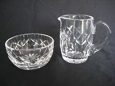 Waterford Crystal Cream and Sugar Set