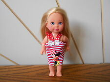 STEFFI LOVE character little sister doll SIMBA TOYS Minnie Mouse stripe dress