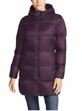 Eddie Bauer Women's XXL Down Parka Packable Luna Peak Jacket Lightweight Purple