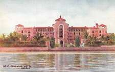Nassau Bahamas New Colonial Hotel Antique Postcard J48368