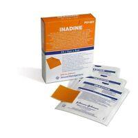 Inadine 5cm x 5cm x5 Non Adhérent Blessure Pansements Povidone Iodine