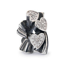 AUTHENTIC TROLLBEADS Blooming Hearts TAGBE-00136 Scintilla d'Amore