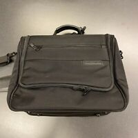 Briggs And Riley Luggage Travelware Weekend/ Carry On Black EUC