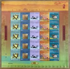 China Macau 2009 FULL S/S New Year of Ox stamps Zodiac
