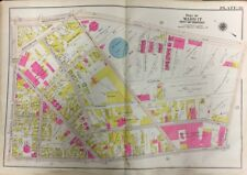 Orig 1906 G.W. Bromley Roxbury, Ma, Boston Consolidated Gas Company, Atlas Map
