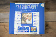 Kentucky Wildcats Basketball~C.R. Gibson Blue and White Scrapbook Album Kit