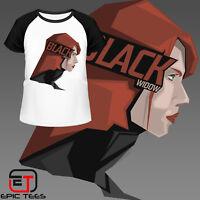 Marvel Avengers Black Widow T-Shirt / Mens / Women's / Kids / Comic Book