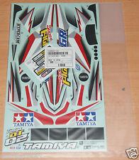 Tamiya 58485 Super Fighter GR/Violet/DT02 , 9495657/19495657 Decals/Stickers NIP