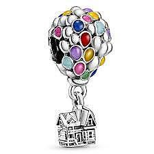 NEW AUTHENTIC Genuine Pandora Disney UP House & Balloons Charm 798962C01