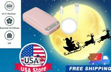 UV Ultraviolet Pink Cell Phone Sterilizer Sanitizer Disinfection Box Case Cleane