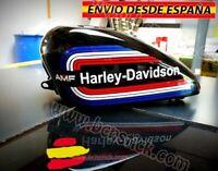Vinilos Adhesivas Laterales Decal Motorcycle Harley Davidson AMF Custom Sportser