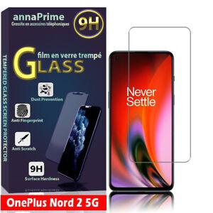 """1 Film Verre Trempé Protecteur Écran pour OnePlus Nord 2 5G 6.43"""" DN2101 DN2103"""