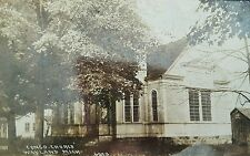 Postcard RPPC Congo Church Wayland Michigan 1918