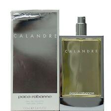 CALANDRE BY PACO RABANNE FOR WOMEN EAU DE TOILETTE SPRAY 100 ML / 3.4 FL.OZ. (T)