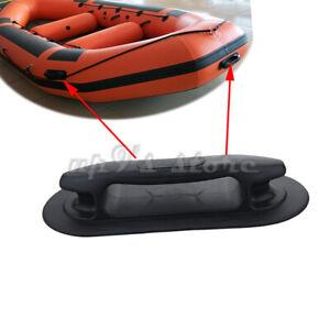 2 STÜCKE Neue 22,2 cm Schwarz Grau Hebe Haltegriff Cleat Watercraft Teile Für