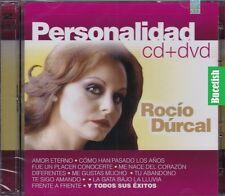 Rocio Durcal Personalidad CD+DVD New Nuevo sealed